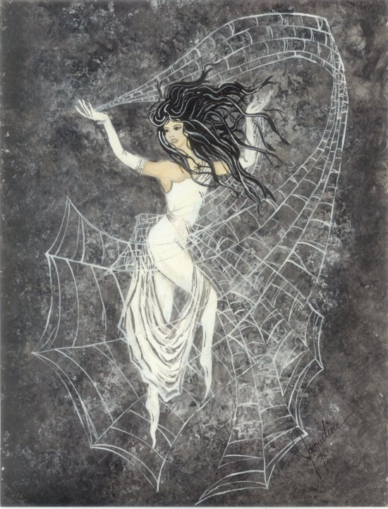 the greek myth of arachne That mortal was arachne, a maiden who had attained such skill in the arts of  weaving and embroidery that the nymphs themselves would leave their groves  and.